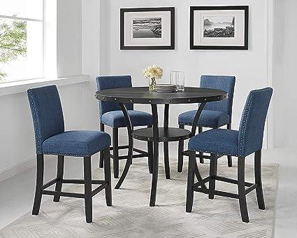 Amazon Com New Classic Furniture 45 162 D4cm Crispin Counter Dining