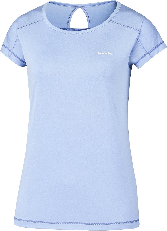 Columbia Peak To Point Sshort Sleeve Shirt Camiseta de Manga Corta Mujer