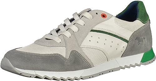 Mustang Shoes Sneaker in Übergrößen Grau 4898-301-211 große Herrenschuhe,  Größe  7882dd7331
