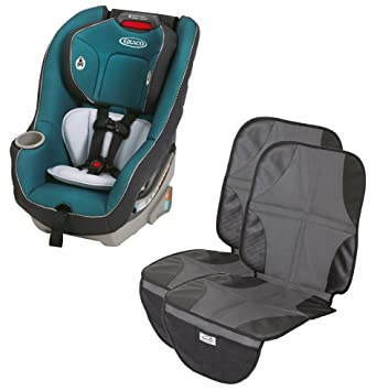 Graco Contender 65 Convertible Car Seat With 2 Pack Mats Sapphire