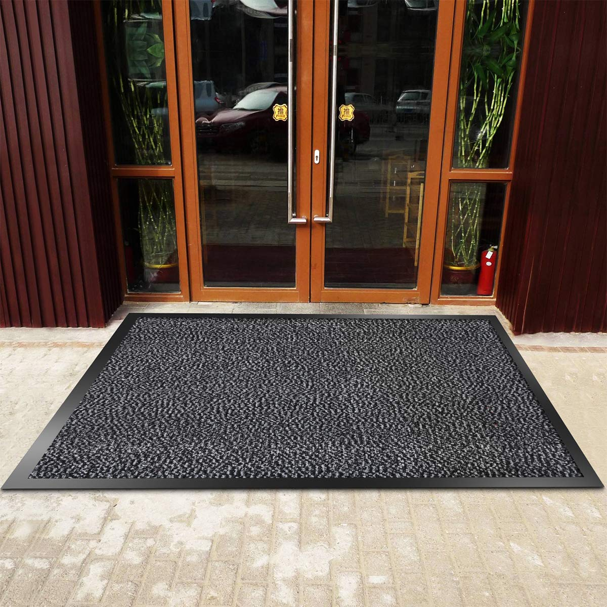 Showin Carpet Entrance Front Door Mat Absorbent Non Slip