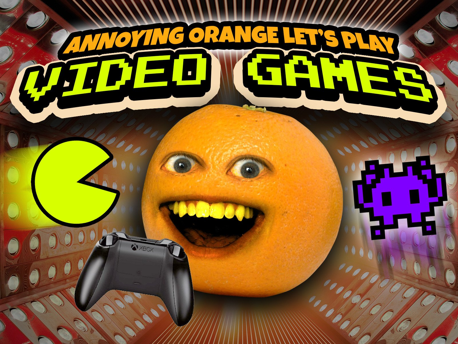 Amazon.com: Watch Clip: Annoying Orange Lets Play Video Games! | Prime Video