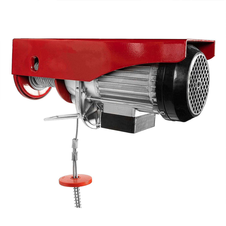 800kg Chaneau Palan Electrique 220V Treuil /à C/âble Electrique 800kg Treuil-Palan Electrique Avec T/él/écommande
