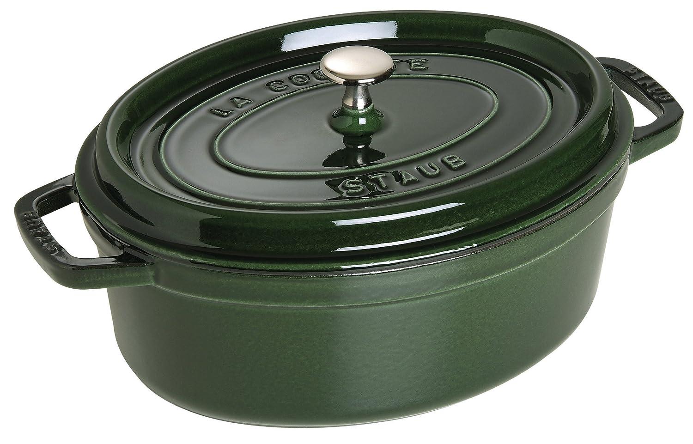 Staub Oval Dutch Oven 7-quart Basil