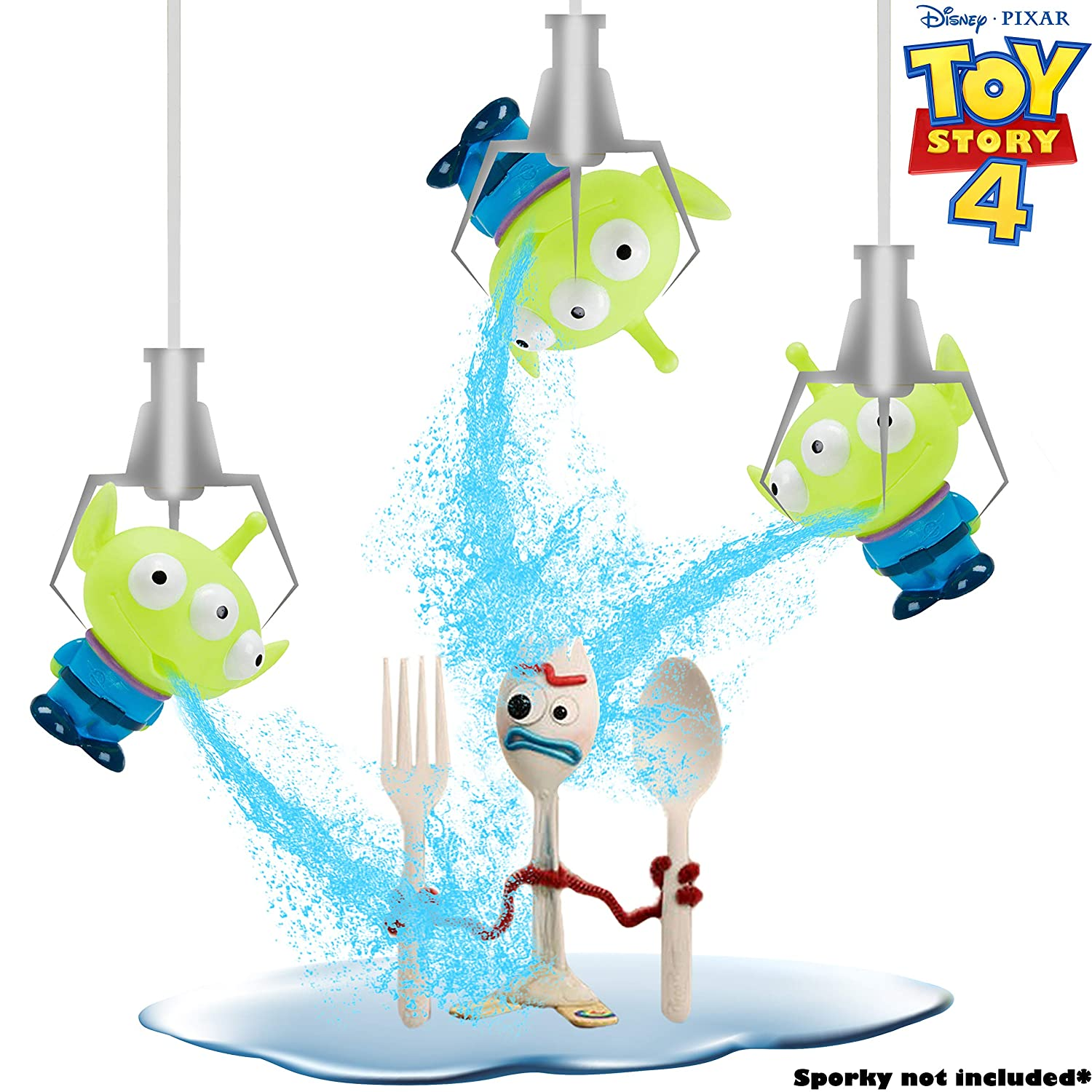 Fun Floating Creature Toy For Bath Time Or Swimming Pool Disney Pixar Toy Story Set Of 3 Alien Figurine Water Squirters For Children Outdoor Or Indoor Blaster Splash Game For Kids Toddlers