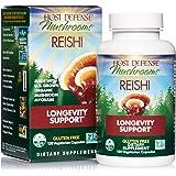 Host Defense, Reishi Capsules, Supports General Wellness and Vitality, Daily Mushroom Mycelium Supplement, USDA Organic…