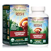 Host Defense, Reishi Capsules, Supports General Wellness and Vitality, Daily Mushroom...