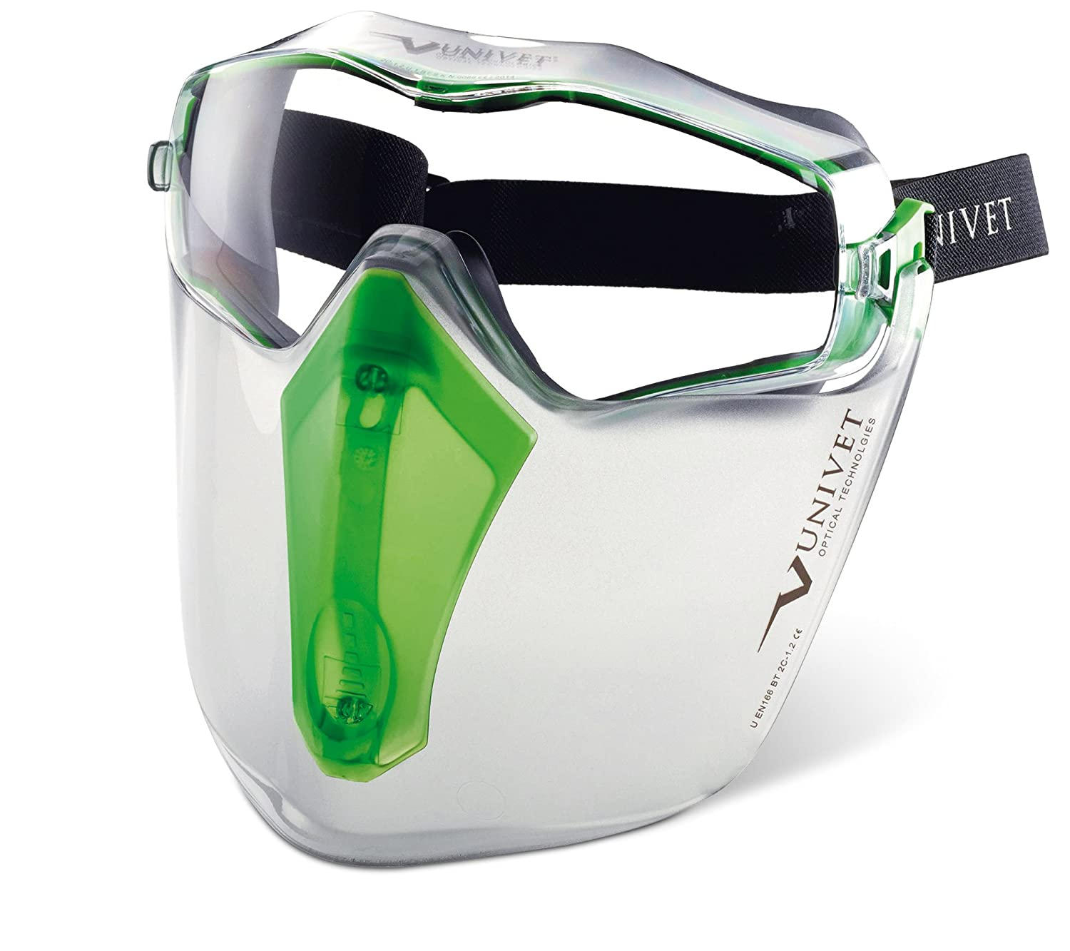 Univet 6X3 Next Generation Goggle & Protective Face Shield Univet Optical Technologies
