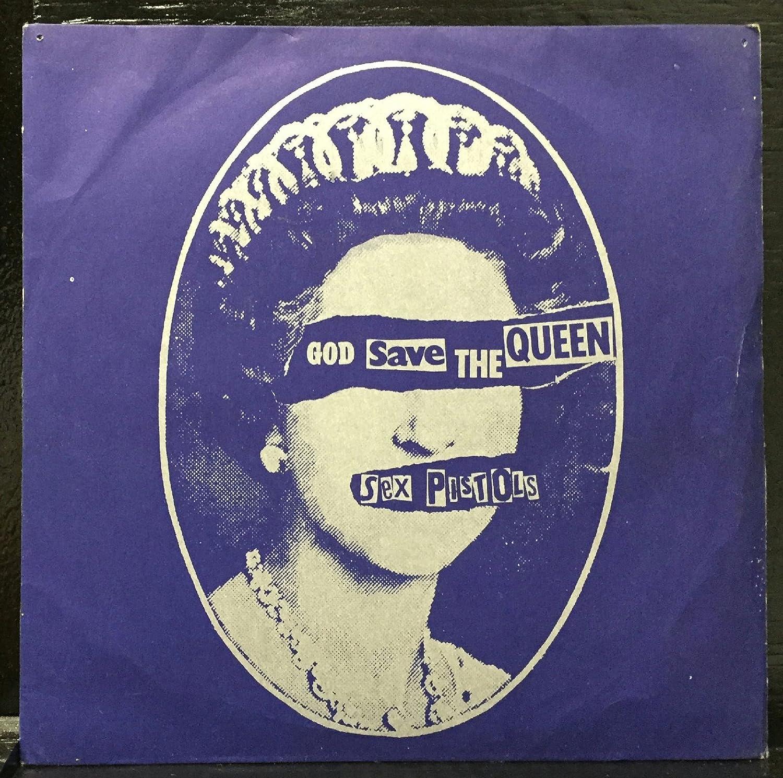 Resultado de imagem para Sex Pistols – God Save The Queen lp