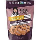 Blends by Orly Gluten Free Raisin Challah Mix - Baking Mix for Gluten Free Challah Bread, Gluten-Free Dinner Rolls 20.5 Oz
