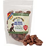 Premium Chicken Dog Treats Made in USA - Freeze Dried Whole Chicken Hearts for Dogs & Cats - One Ingredient, Human Grade - No Fillers, Grain Free - 4oz by Green Butterfly Brands