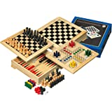 Philos 3104 - Holz-Spielesammlung Reise, mit verschiedenen Spielmöglichkeiten