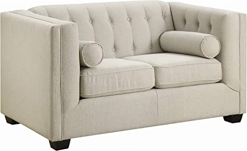 Coaster Home Furnishings Cairns Upholstered Loveseat