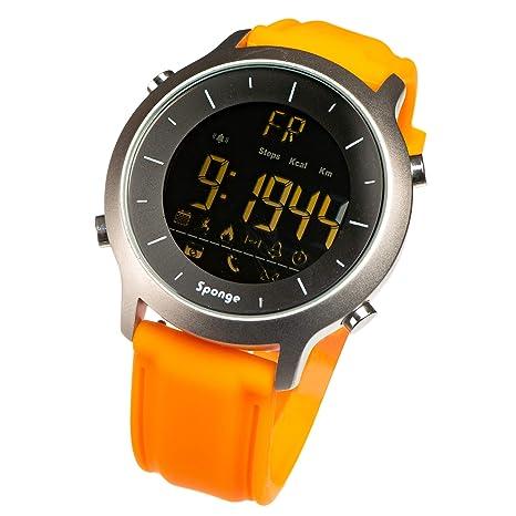 Amazon.com: Sponge - Reloj de pulsera digital para hombre ...