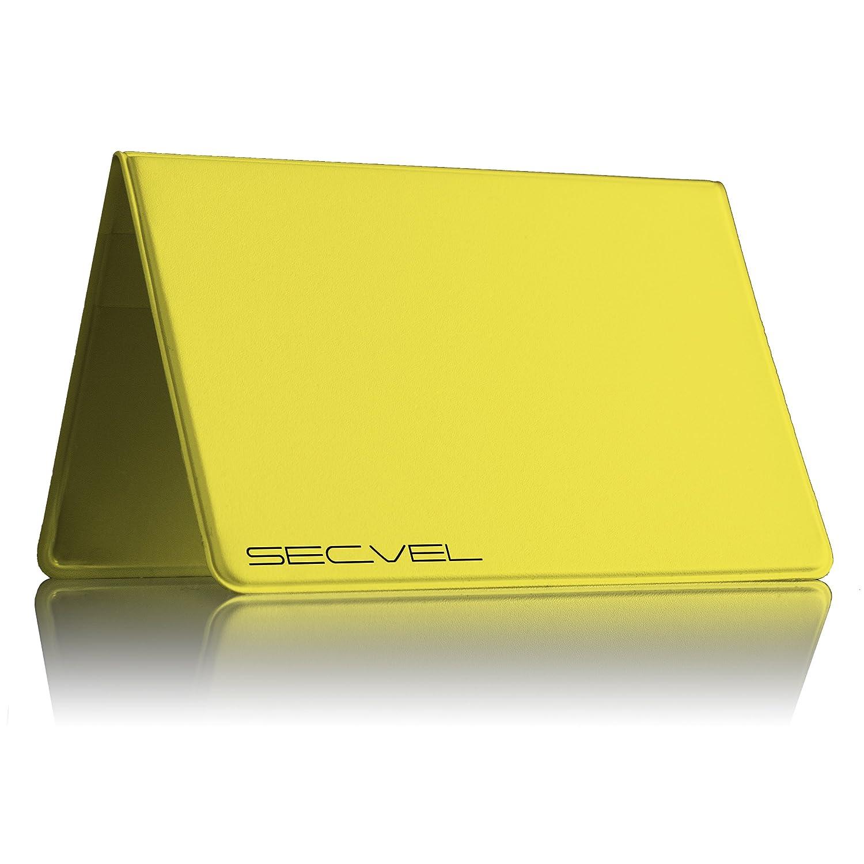 ilNUOVO e MIGLIORATO Portatessere young style Spring SECVEL per 2-4 carte protezione RFID//NFC /& campi magnetici