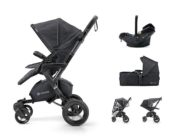 Concord Neo Mobility Set - Silla de paseo con capazo grupo 0+, unisex, color cosmic black: Amazon.es: Bebé