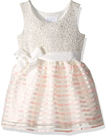 128aba038 The Children's Place Baby Girls Special Occasion Printed Dress
