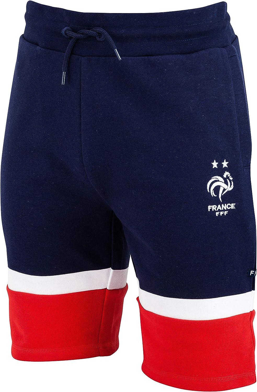 Offizielle Kollektion Kindergr/ö/ße Jungen Equipe de France de Football Fu/ßballnationalmannschaft Frankreich Shorts Molton FFF