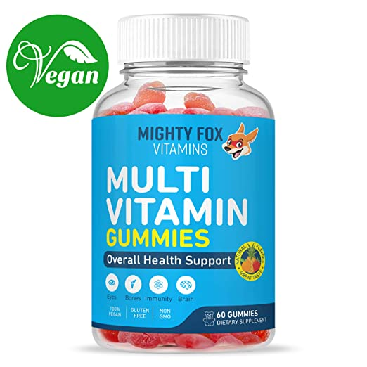 Might Fox Vegan multivitamin gummy