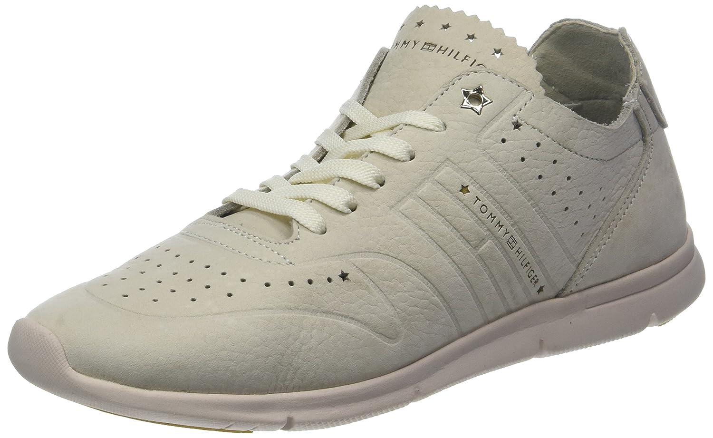 Tommy Hilfiger Nubuck Light Weight Sneaker, Zapatillas para Mujer