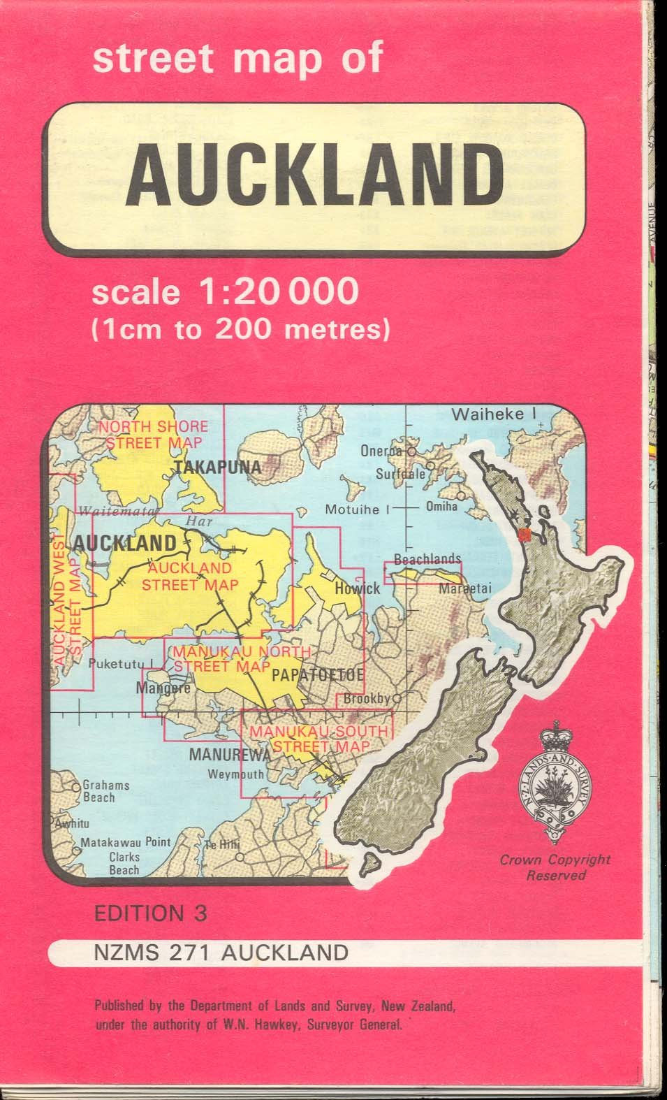 Map Of Auckland New Zealand.Map Auckland New Zealand 271 None Amazon Com Books