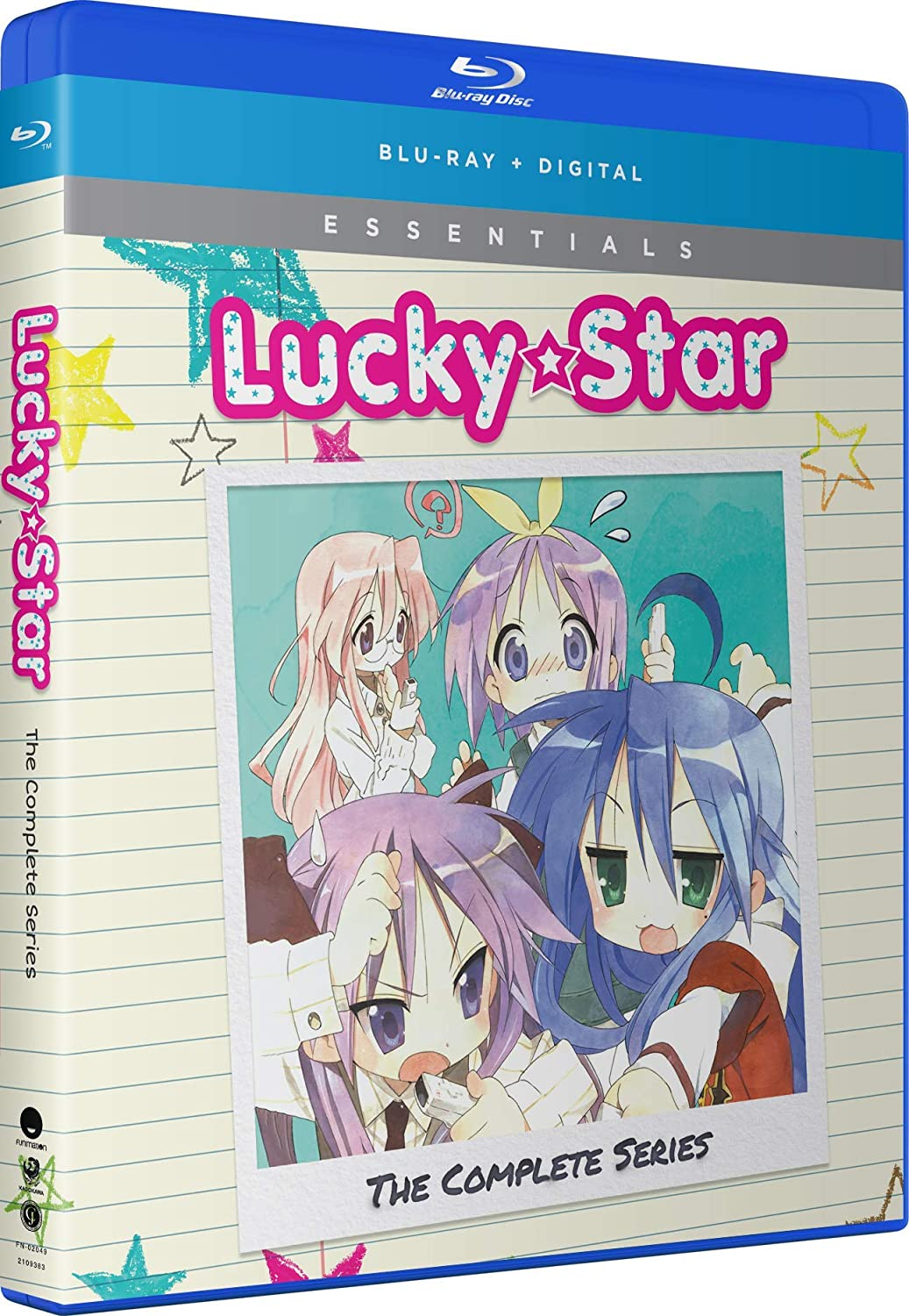 Lucky Star Complete Series + OVA Essentials Blu-ray (Dual Audio)