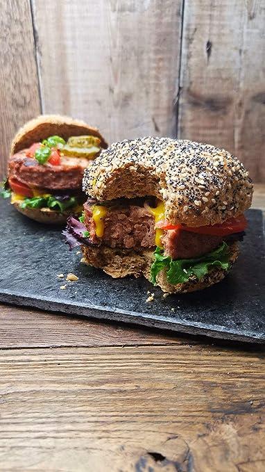 Hamburguesas Premium V-Mega de Vbites   Vegan   Sin carne ...
