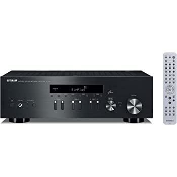 Yamaha R-N301BL Network Stereo Receiver, Black
