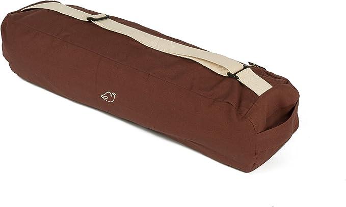Blue Dove - Bolsa para Esterilla de Yoga (algodón orgánico), Color marrón: Amazon.es: Deportes y aire libre