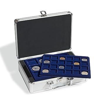 Leuchtturm 306206 Maletín para 112 monedas, incl. 6 bandejas: Amazon.es: Juguetes y juegos