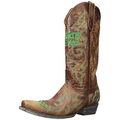 GAMEDAY BOOTS NCAA North Texas Mean Green Men's: Sports & Outdoors