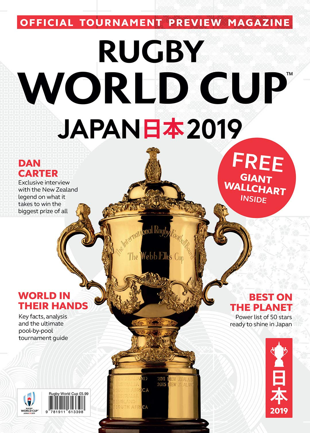 Rugby World Cup 2019 Official Tournament Preview Magazine Rugby World Cup 9781911613398 Amazon Com Books