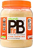 PBfit All-Natural Organic Peanut Butter Powder, Powdered Peanut Spread from Real Roasted Pressed Peanuts, 8g of Protein…