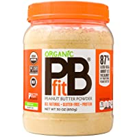 PBfit All-Natural Organic Peanut Butter Powder, Powdered Peanut Spread from Real...