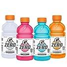 Gatorade Zero Sugar Thirst Quencher, 4 Flavor Variety Pack, 12 Ounce, 24 Count