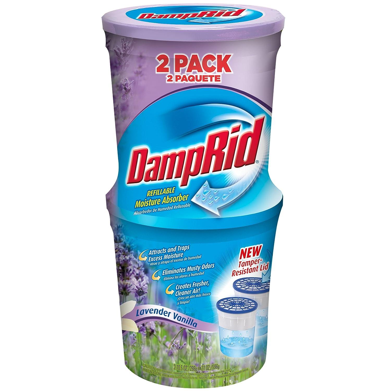 DampRid FG60LV Moisture Absorber, Lavender Vanilla, 10.5