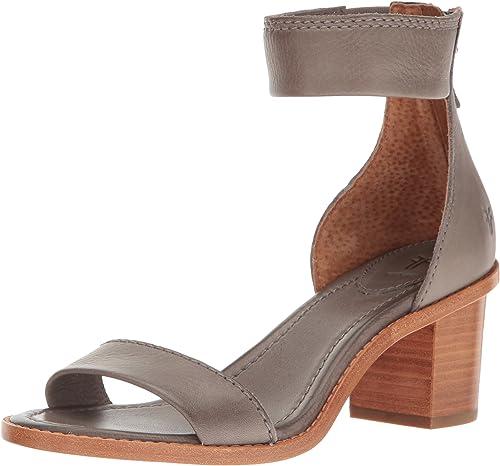 Brielle Back Zip Dress Sandal