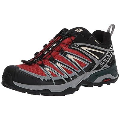 Salomon Men's Hiking Shoe, burnt brick/black/bleached Sand | Hiking Shoes