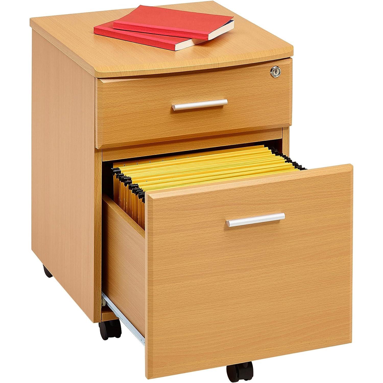 Piranha Büroschrank mit Zwei Schubladen und passend zu unseren Büromöbeln LADEKAST PC 10b