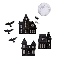 Deals on Martha Stewart Chipboard Haunted House Die Cuts