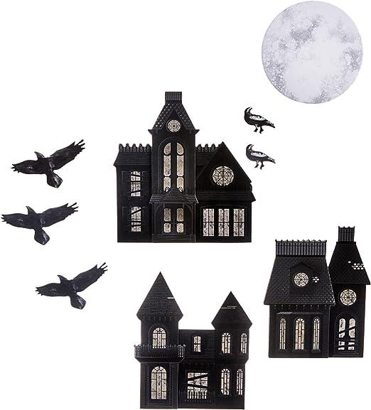 haunted house die cuts