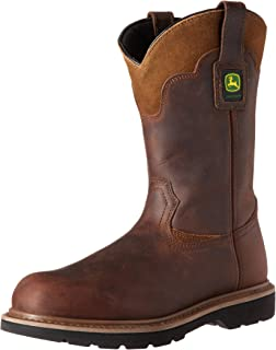 6f127fde4c0 Amazon.com | John Deere Men's 11-Inch FR Steel Toe XRD Met Work Boot ...