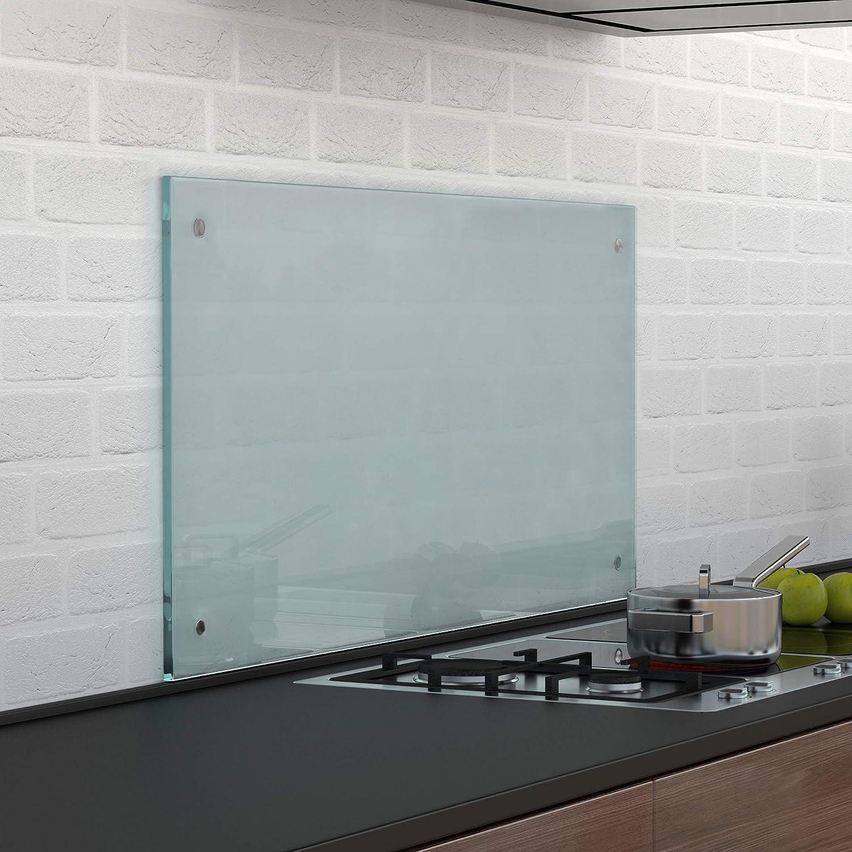 Glas Küchenrückwand 70x50cm matt Herdspritzschutz Küche Spritzschutz neu.haus