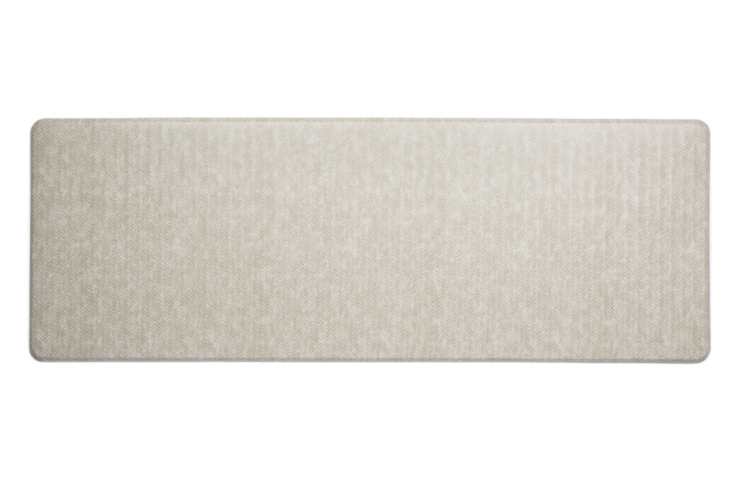 Imprint Cumulus9 Kitchen Mat Chevron Series Island Area Runner 26 in. x 72 in. x 5/8 in. Goose by Imprint (Image #1)