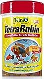 TetraRubin Hauptfutter (für Zierfische, für intensive Farbenpracht mit natürlichen Farbverstärkern, plus Präbiotika für verbesserte Körperfunktionen und Futterverwertung), verschiedene Größen