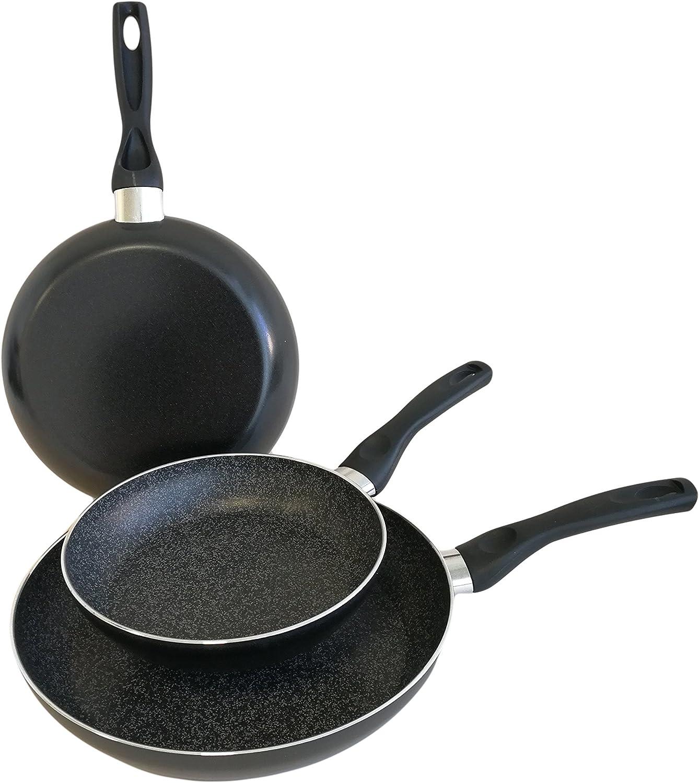 Amazon.com: Domo D99ST0300 Enjoy Cooking - Juego de sartenes ...