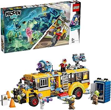 Oferta amazon: LEGO - Hidden Side Autobús de Intercepción Juguete de construcción con realidad aumentada, incluye bus customizado y varias minifiguras para recrear aventuras, Novedad 2019 (70423)