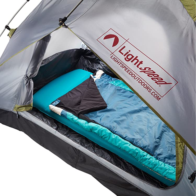 Lightspeed Outdoors XL Super Plush FlexForm Self-Inflating Sleep and Camp Pad