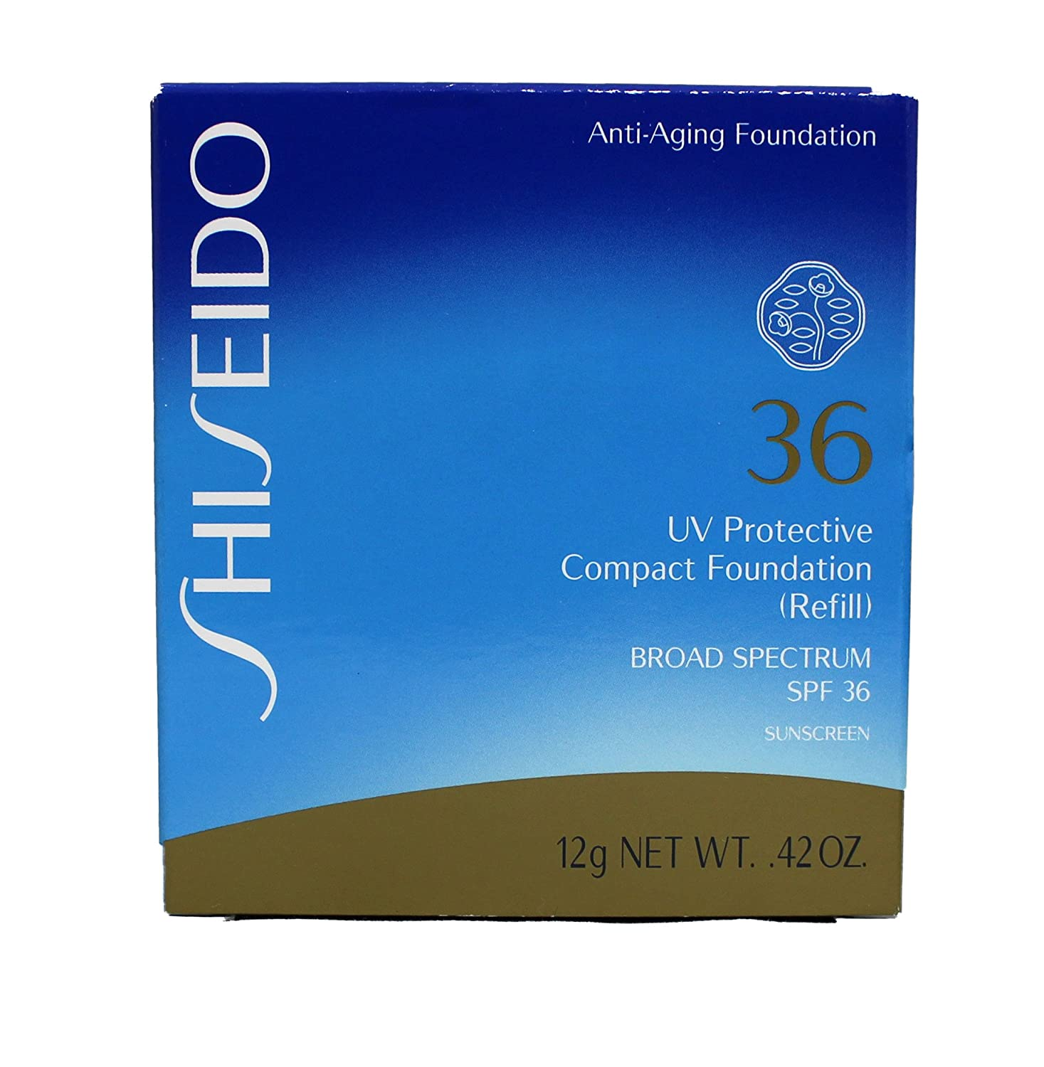 Shiseido UV Protective Compact Powder Foundation SPF 36 Refill (Fair Ivory)