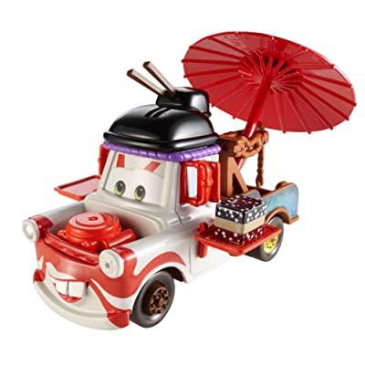 Disney/Pixar Cars, Maters Die-Cast Vehicle, Deluxe Kabuki Mater #3/6, 1:55 Scale: Toys & Games